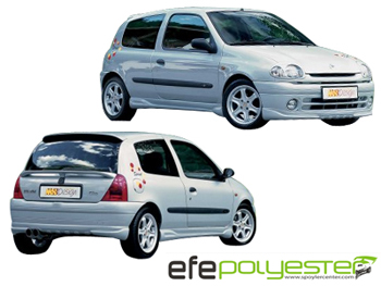 Clio II HB Body Kit