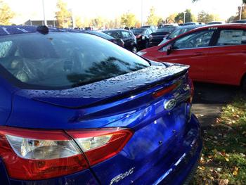 Focus 3 Sedan Spoyler