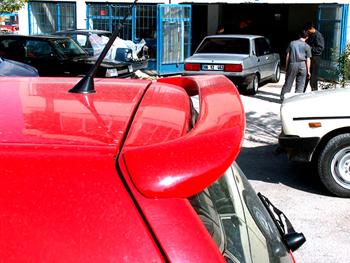 Polo 98 HB Işıklı Spoyler